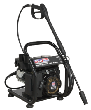 Sealey PWM1300 Pressure Washer 130bar 420ltr/hr 2.4hp Petrol
